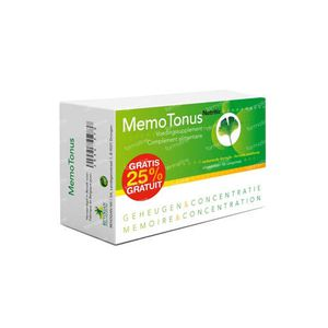 Nutritic Memotonus +25% GRATIS 60+15  Tabletten