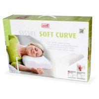 Sissel Soft Curve Hoofdkussen Small + Overtrek Ecru 1 stuk