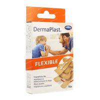 Hartmann Dermaplast Flexibel Vinger 4 Maten 5353450 16 st