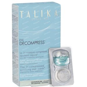 Talika Eye Decompress Maske 6 st