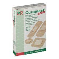 Curaplast Sensitive Strips 4 Größes 17083 20 st