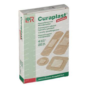 Curaplast Sensitive Strips 4 Tailles 17083 20 st