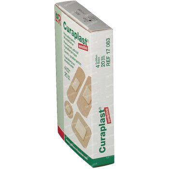 Curaplast Sensitive Strips 4 Maten 17083 20 st