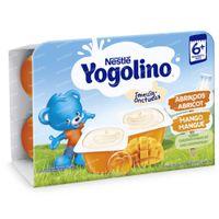 Nestlé Baby Yogolino Abricot-Mangue 6x60 g