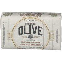 Korres Pure Greek Olive Traditional Soap Cedar 125 g
