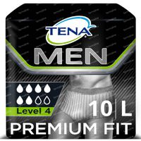 TENA Men Premium Fit Protective Underwear Level 4 Large 10 st