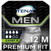 TENA Men Premium Fit Protective Underwear Level 4 Medium 12 pièces