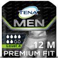 TENA Men Premium Fit Protective Underwear Level 4 Medium 12 stuks
