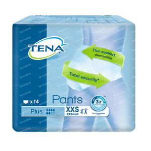 Tena Pants Plus XXSmall 792214 14 st