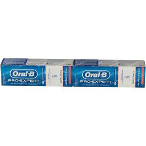 Oral B Dentifrice Pro Expert Strong Teeth 2ième À -50% 2x75 ml