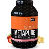 QNT Metapure Zero Carb Aardbei - Banaan 908 g