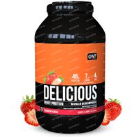 QNT Delicious Whey Protein Aardbei 2.2 kg