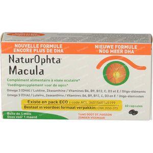 Naturophta Macula Nueva Fórmula 60 cápsulas