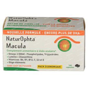 Naturophta Macula Nieuwe Formule 180 capsules