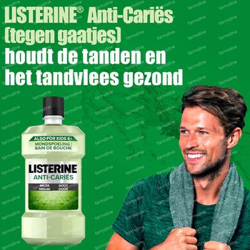 Listerine Protection Caries 500 ml