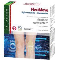 Fytostar FlexiMove High-Curcumine + Glucosamine – Flexibele Gewrichten – Voedingssupplement 60  tabletten