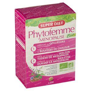 Super Diet Phytofemme Salie Menopauze Bio 120 tabletten