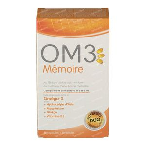 OM3 Mémoire 15+15 capsules