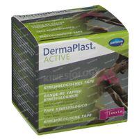 Hartmann Dermaplast Active Kinesio Tape Roze 5cm x 5m 5220420 1 st