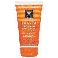 Apivita Sun Gesicht & Körper Sonnecreme LSF30 150 ml