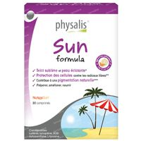 Physalis Sun Formula 30  comprimés