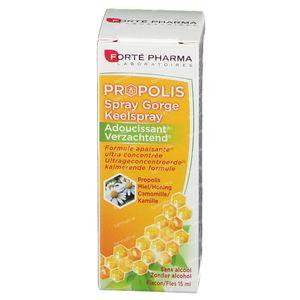 Forté Pharma Propolis Mildernde Kehlespray 15 ml