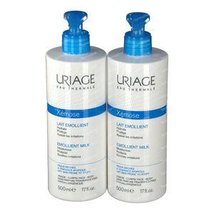 Uriage Xémose Moisturizing Milk 2nd at -50% 2x500 ml