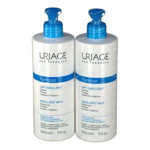 Uriage Xémose Latte Idratante DUO 2ndo al -50% 2x500 ml