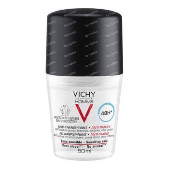 Vichy Homme Deodorant 48h Anti-Transpirant 50 ml roller