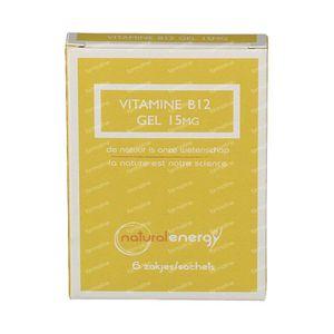 Natural Energy Vitamin B12 Gel 15mg 6 sachets