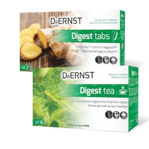 Dr Ernst Digest Tabs 42 Tabletten + GRATIS 20 Teebeutel 1 shaker