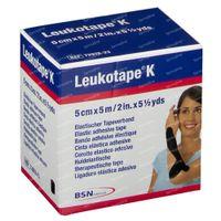 Leukotape K Noir 5cm x 5m 7297823 1 st