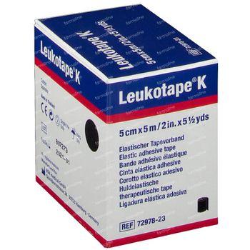 Leukotape K Schwarz 5cm x 5m 7297823 1 st