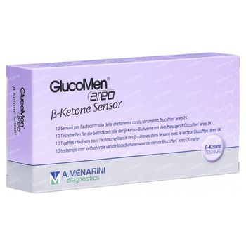 GlucoMen B Ketone Sensor 48103 10 pièces