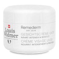 Louis Widmer Remederm Gezichtscrème SPF20 Zonder Parfum 50 ml