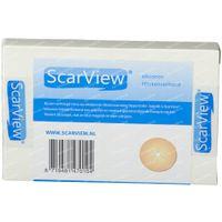 Scarview Mamelon Élastique De Silicone 6,5 cm SCARV16 2 st