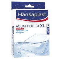 Hansaplast Aqua Protect XL Steriel 6x7cm 5 stuks