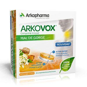 Arkovox Sore Throat 20 lozenges