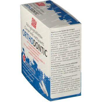 Fittydent Ortho Brausetabletten zur Reinigung 32 st