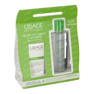 Uriage Hyséac 3-Regul Globale Verzorging + GRATIS Micellair Water Gemengde tot Vette Huid 40+250 ml