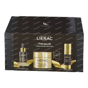 Lierac Geschenkset Juwelendoosje Premium Soyeuse Luxe 50+15+30 ml