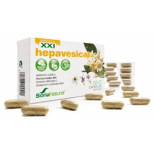 Soria Natural 02-C Hepavesical XXI 30 kapseln