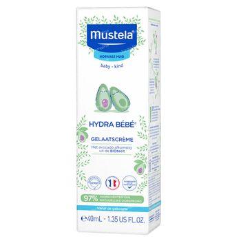 Mustela Hydra Bébé Gelaatscrème Nieuwe Formule 40 ml