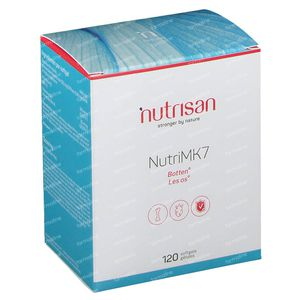 Nutrisan Nutri MK7 Nieuwe Formula 120 softgels