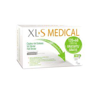 XLS Medical Fett Binder + 60 Tabletten GRATIS 120+60 tabletten