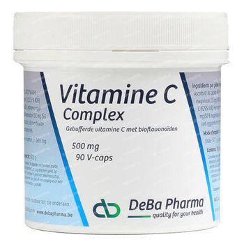 Deba Pharma Vitamine C Complex 500 mg + Bioflavonoïdes 90 capsules