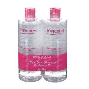 Topicrem Mild Micellair Water Duo 2x400 ml