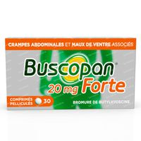 Buscopan Forte 20mg - Crampes Abdominales 30  comprimés
