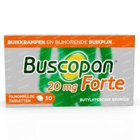Buscopan Forte 20mg - Buikkrampen 30  tabletten