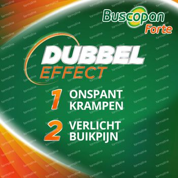 Buscopan Forte 20mg - Buikkrampen 30 tabletten